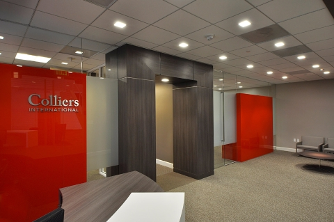 Colliers International Lobby