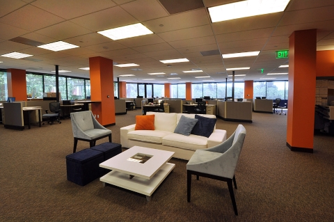 ServiceMax Open Floor Plan
